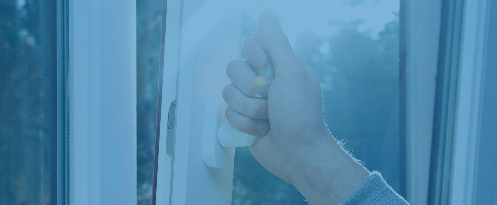 hand opening double glazing window handle